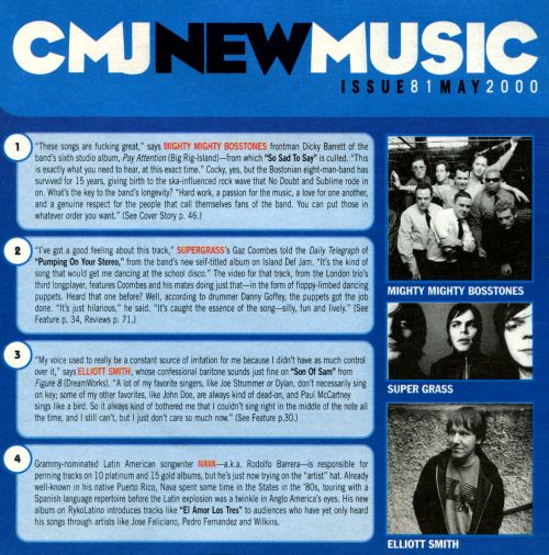 CMJ New Music, Vol. 81