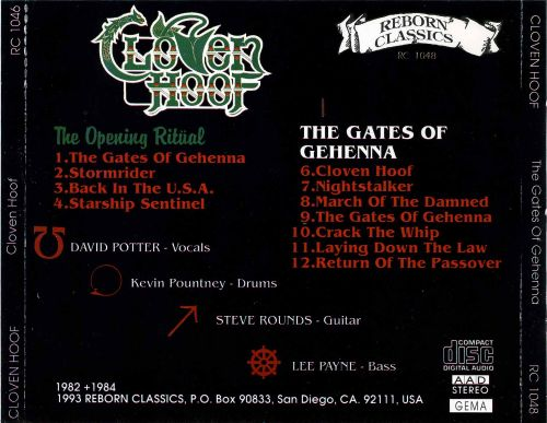 Opening Ritual/The Gates of Gehenna