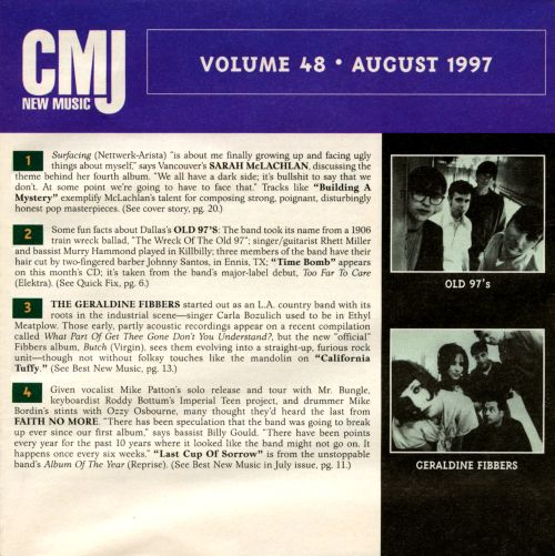 CMJ New Music, Vol. 48