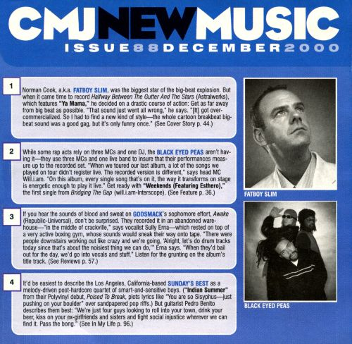 CMJ New Music, Vol. 88