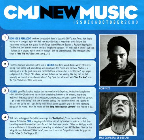CMJ New Music, Vol. 86