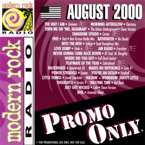 Promo Only: Modern Rock (August 2000)