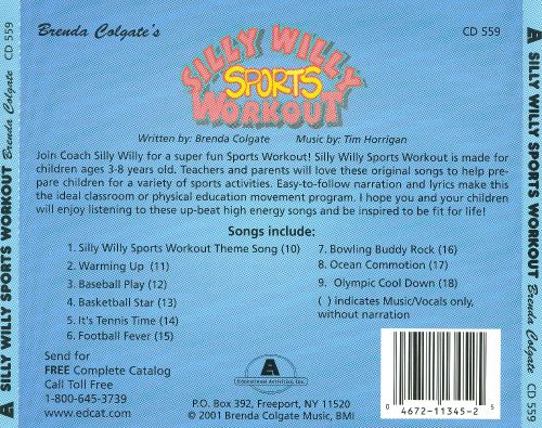 Silly Willy Sports Workout