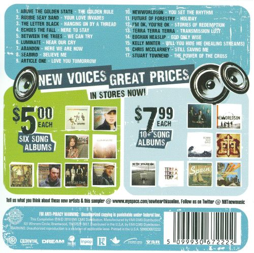 Now Hear This!: Winter 2010 Sampler