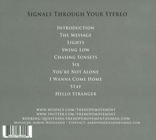 Signals Through Your Stereo