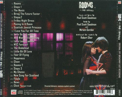 Rooms: A Rock Romance [Original Off Broadway Cast Recording]