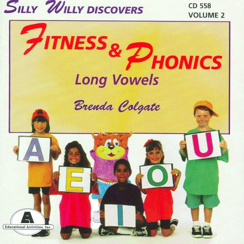 Silly Willy Discovers Fitness & Phonics: Long Vowels