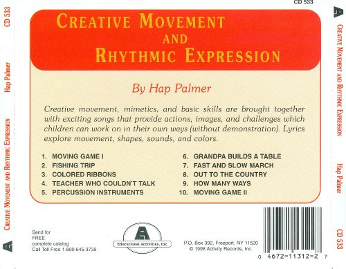 Creative Movement and Rhythmic Expression