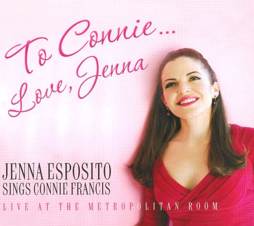 To Connie...Love, Jenna