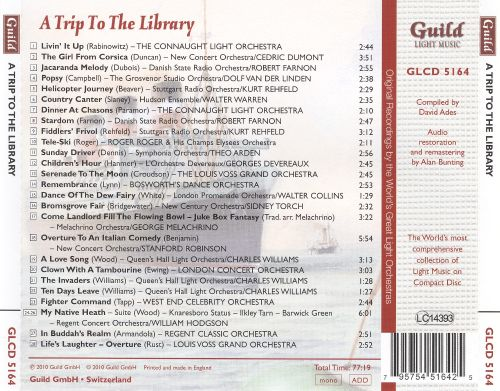 The Golden Age of Light Music: A Trip to the Library