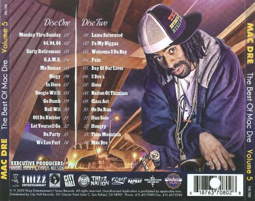 5 Best Of Mac Dre, Vol. 5
