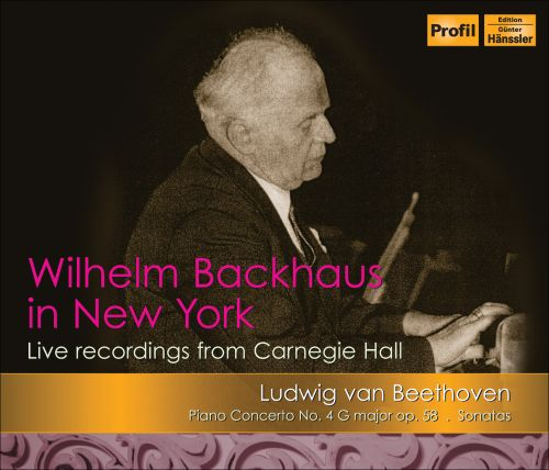 Wilhelm Backhaus In New York: Beethoven