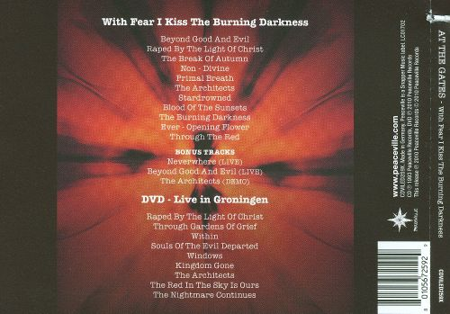With Fear I Kiss the Burning Darkness/Live in Groningen