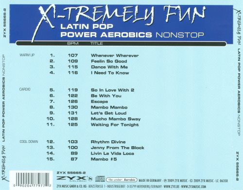 X-Tremely Fun: Latin Pop Power Aerobics