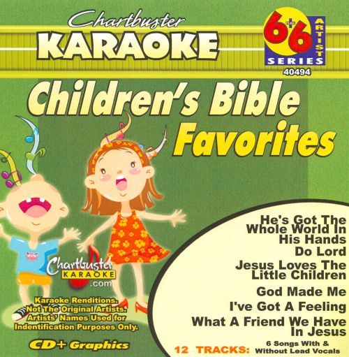 Chartbuster Karaoke: Children's Bible Favorites