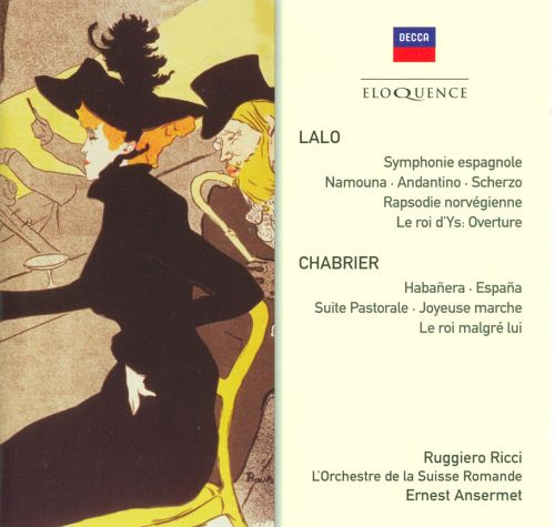 Ernest Ansermet Conducts Lalo & Chabrier