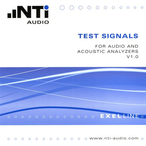Test Signals for Audio and Acoustic Analyzers V 1.0