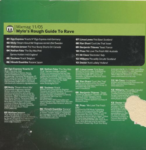 A  Rough Guide to Rave by Mylo: Mixmag 11/05