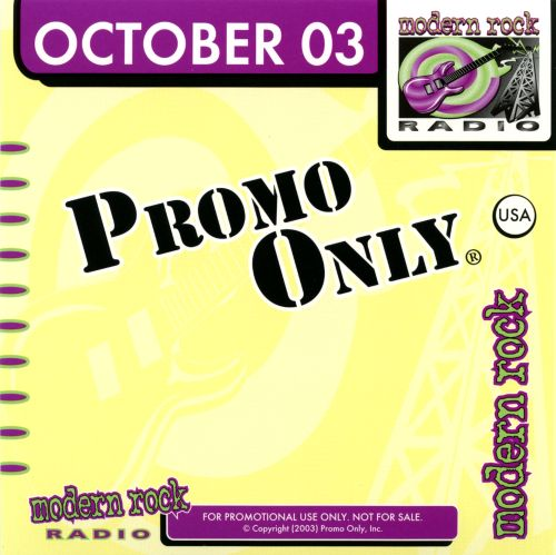 Promo Only: Modern Rock Radio (October 2003)