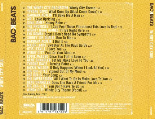 Windy City Soul: Smooth '70s Soul from Chicago