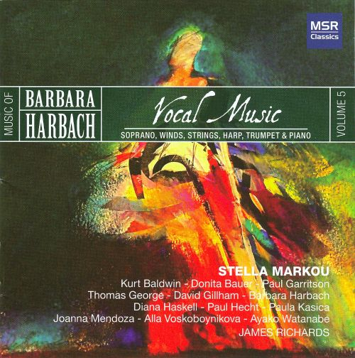 Barbara Harbach: Vocal Music