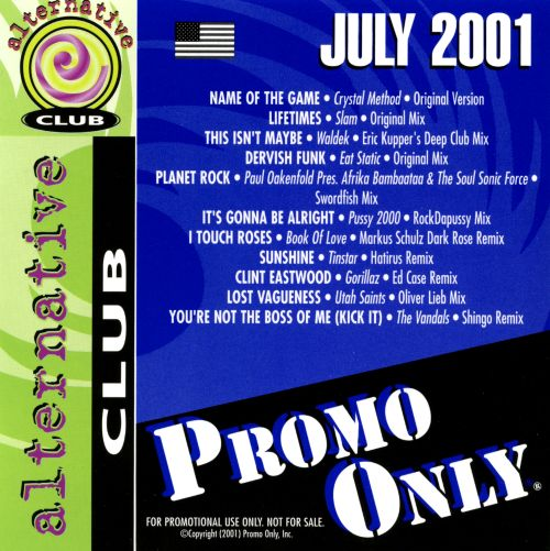 Promo Only: Alternative Club (June 2001)