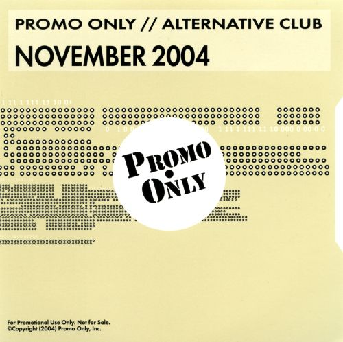 Promo Only: Alternative Club (November 2004)