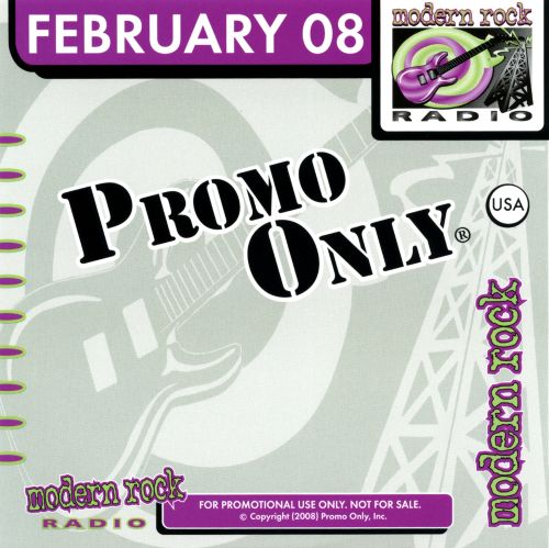 Promo Only: Modern Rock Radio (February 2008)