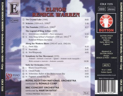 Elinor Remick Warren: Orchestral Works