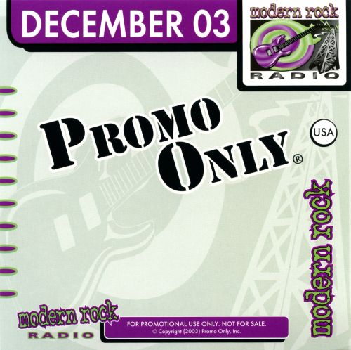 Promo Only: Modern Rock Radio (December 2003)