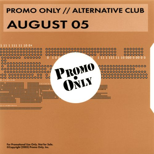 Promo Only: Alternative Club (August 2005)