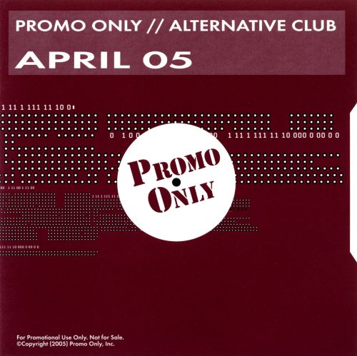 Promo Only: Alternative Club (April 2005)