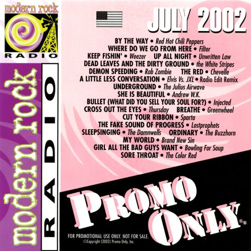 Promo Only: Modern Rock Radio (July 2002)