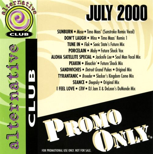 Promo Only: Alternative Club (July 2000)