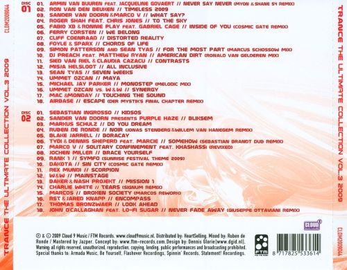 Trance: The Ultimate Collection 2009, Vol. 3