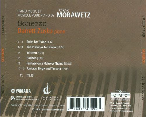 Piano Music By Oskar Morawetz
