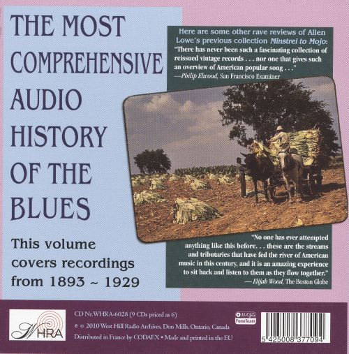 Really the Blues? A Blues History, 1893-1959, Vol. 1