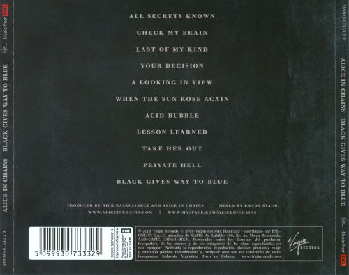 black gives way to blue alice in chains songs reviews credits allmusic. Black Bedroom Furniture Sets. Home Design Ideas