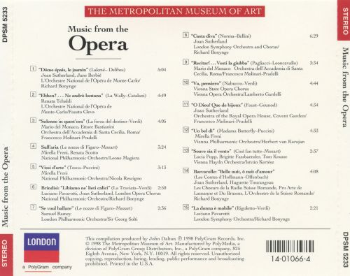 Music from the Opera