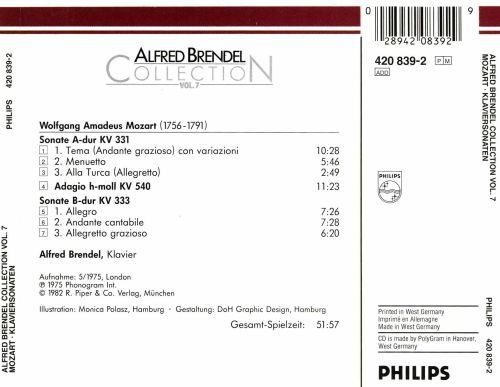 Alfred Brendel Collection, Vol. 7