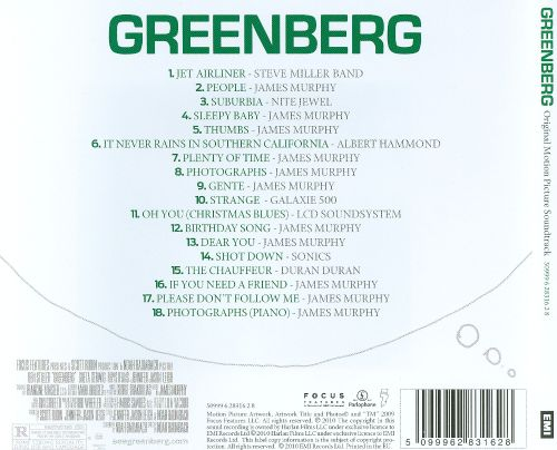Greenberg [Original Soundtrack]