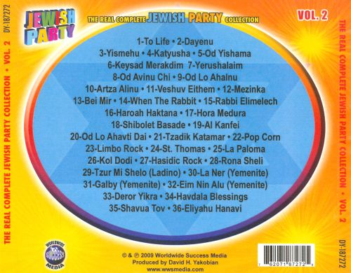 The  Real Complete Jewish Party Music Collection, Vol. 2
