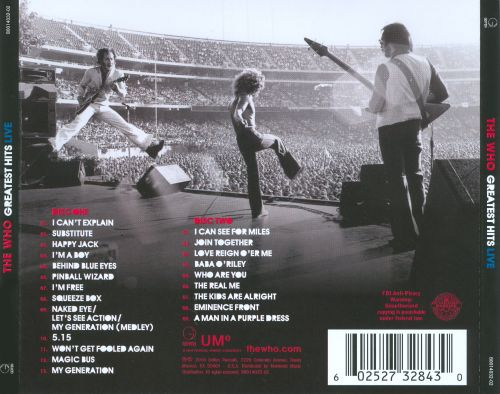 Greatest Hits Live [Geffen]