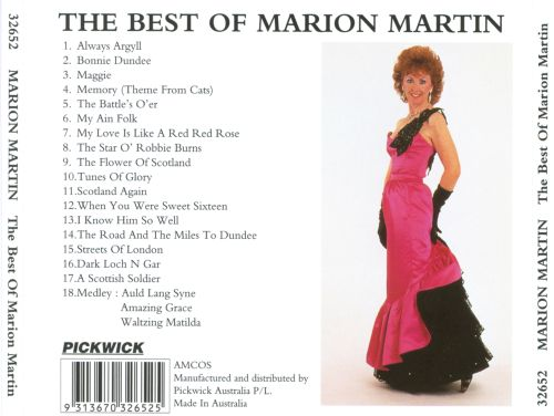 The Best of Marion Martin
