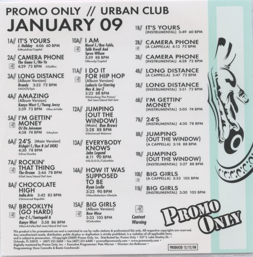 Promo Only: Urban Club (January 2009)