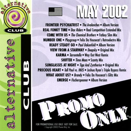Promo Only: Alternative Club (May 2002)