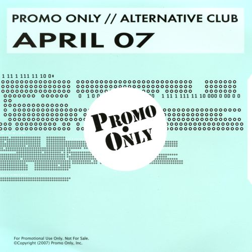 Promo Only: Alternative Club (April 2007)