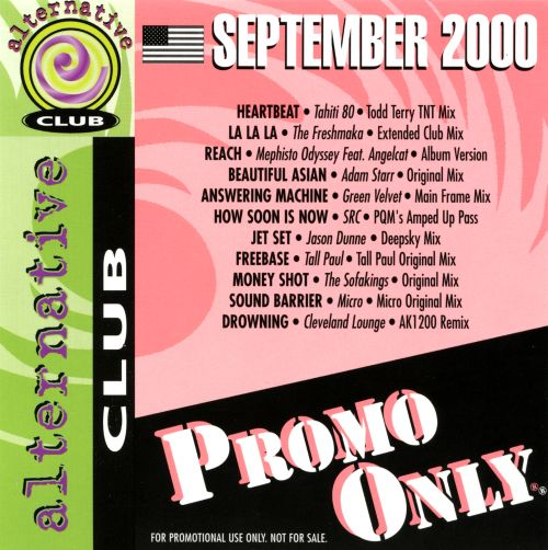 Promo Only: Alternative Club (September 2000)