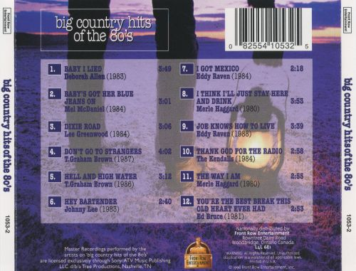 Big Country Hits of the 80's