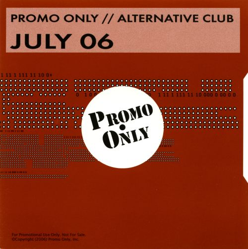 Promo Only: Alternative Club (July 2006)